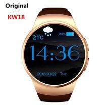 KW18 Bluetooth Smartwatch Unterstützung SIM TF Karte Smart Uhr Android/IOS Herzfrequenzmesser Uhren für Apple Getriebe S2 für Huawei SB02