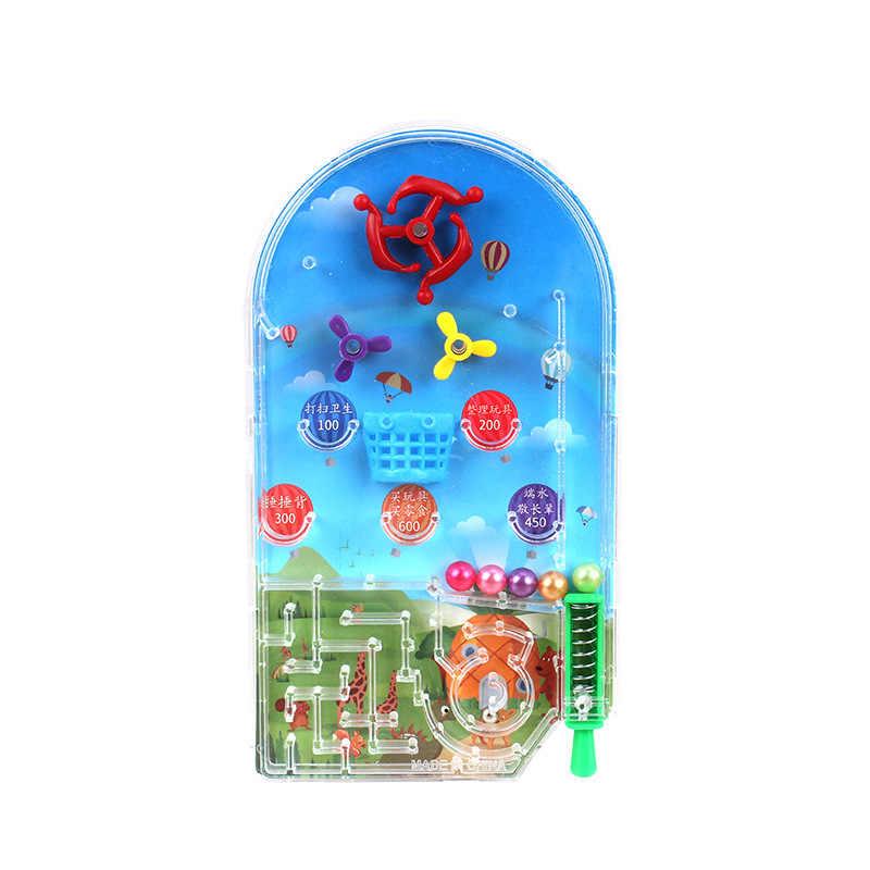 1 шт. лабиринт игры для Humour игрушки приколы и практические анекдоты практичные Шутки Новинка кляп детские игрушки пинбол пластина