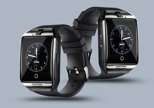 Image 5 - Bluetooth Smart Uhr Q18 Mit Touchscreen Batterie TF Sim Karte Kamera Android Telefon Smartwatch android smart watch Quadrante Chiamata