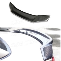 Carbon Fiber / FRP Rear Boot Spoiler For BMW Z4 2009 2013 R Style Trunk Wings car external decoration