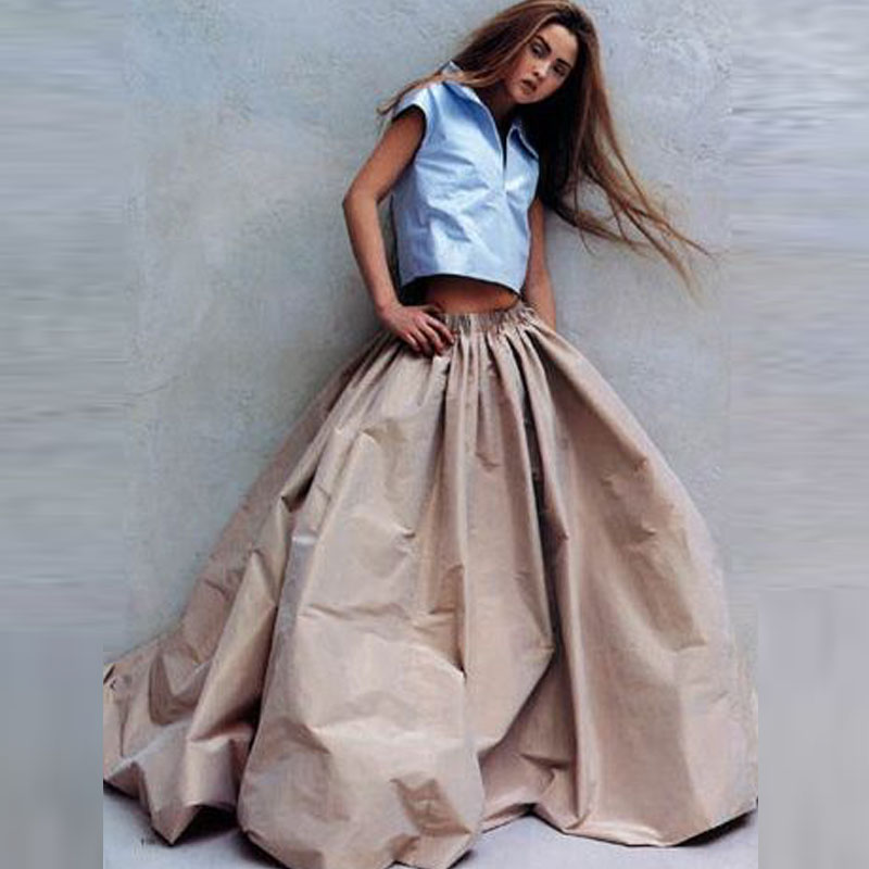 Long Taffeta Skirt Promotion-Shop for Promotional Long Taffeta ...