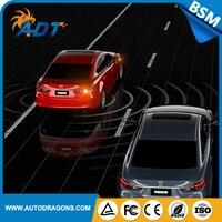 BSM 24 ГГц Микроволновая печь Радар Сенсор слепое пятно Мониторы/Side Assist Системы LED Предупреждение свет Функция с OBD2 для все машины