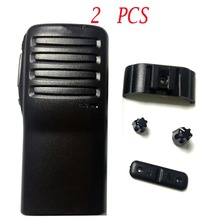 2PCS Radio Service Parts Case Refurb Kit for ICOM IC F26 PTT Button Knob Shell walkie talkie yaesu radio comunicador Parts Case