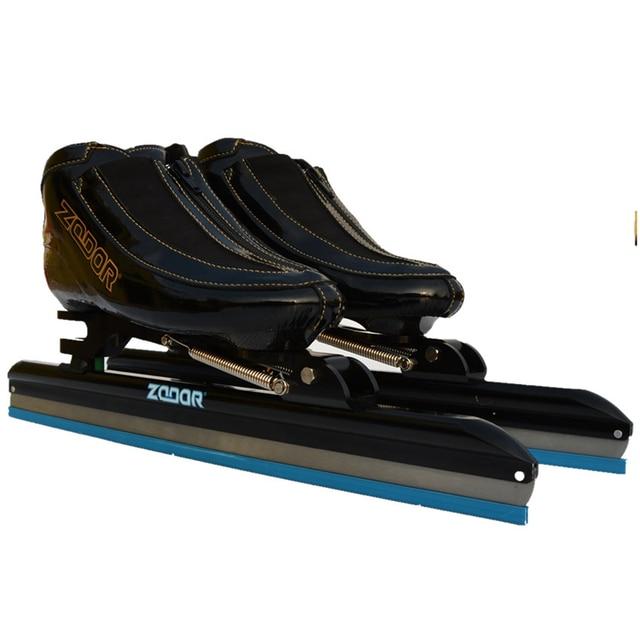 2018 Zodor Profesional Dislokasi Tumit Ekor Ice Skates 6 Lapisan Serat  Karbon Inline Speed Skating Ice 39dda2bf55