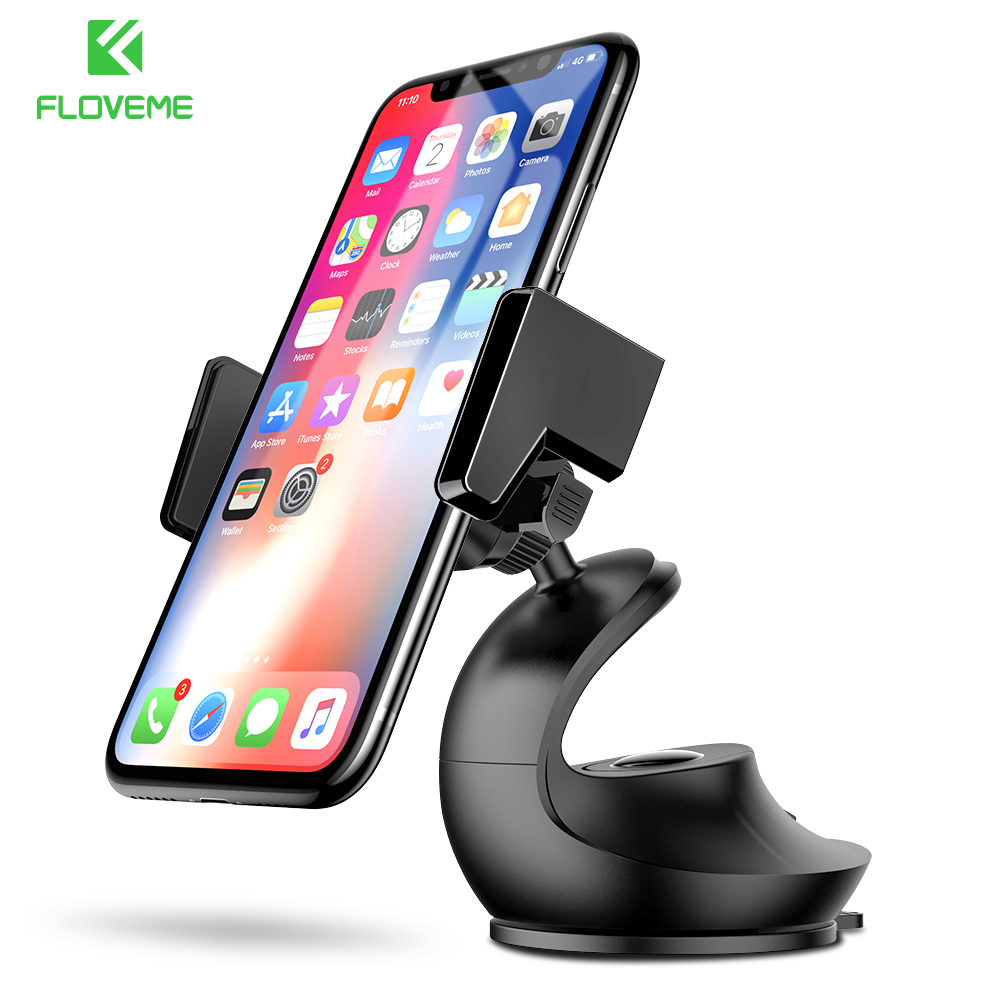 FLOVEME Car Phone Holder For iPhone X 7 Mobile Phone