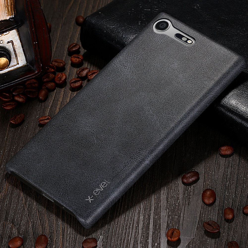 For Sony Xperia XZ Premium Cover X-Level PU Leather Phones Case Ultra Thin Protective Back Cover For Sony XZ Premium Vintage