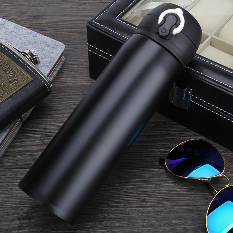 Insulation Cup Thermal Bottle For Tea 500ml Women Portable Vacuum Flasks Thermocup 304 Stainless Steel Thermo Mug DW002