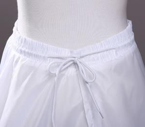 Image 5 - Hoopless 8 שכבות טול קשה יוקרה נסיכת Quinceanera שמלות תחתוניות תחתוניות חתונה קרינולינה ארוכה טול S40