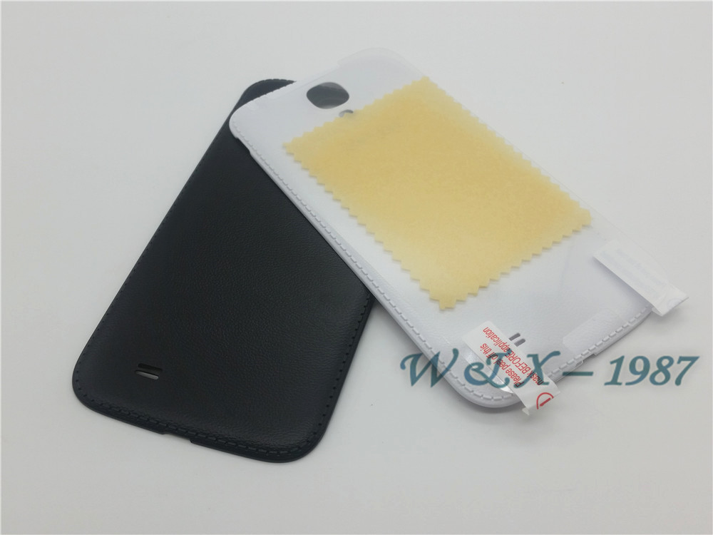 Hot Selling Black and White Cell Phone Case For Samsung S4 i9500/i9505/i337 Door Back Battery Cover Case PC