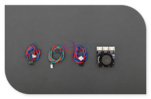 DFRobot Gravity Series Joystick Module V2, 3.3~5V connect two analog inputs + one digital pin Compatible with arduino for Robot