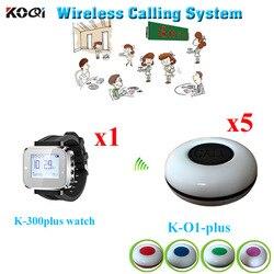 Bezprzewodowy System nagłośnienia w dowolnym języku wszelkie Logo są akceptowane dla restauracji kelner wywołanie (1 sztuk zegarek na rękę + 5 sztuk wodoodporna przycisk połączenia) sound wire sound 5sound driver for laptop -