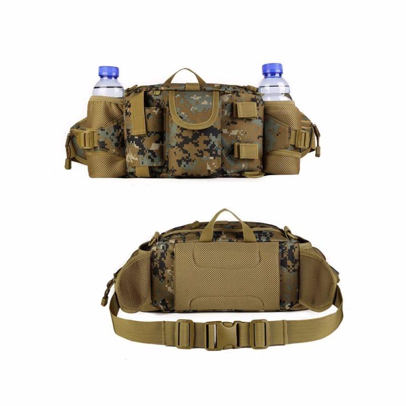 marine camo color of multi use waist pack