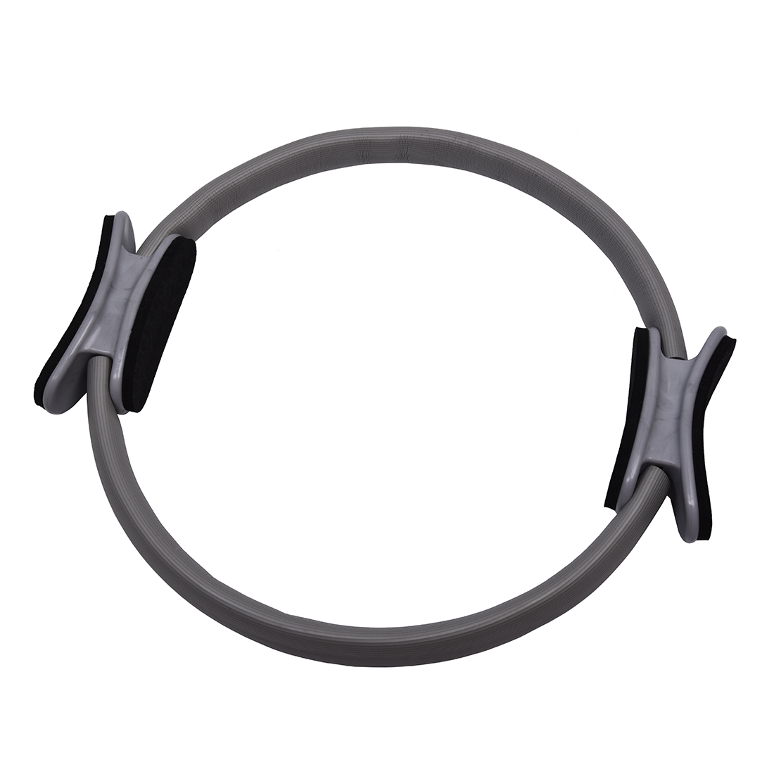Pilates Ring Circle Resistance Exercise Workout Fitness GYM Yoga Ring Dual Band gray