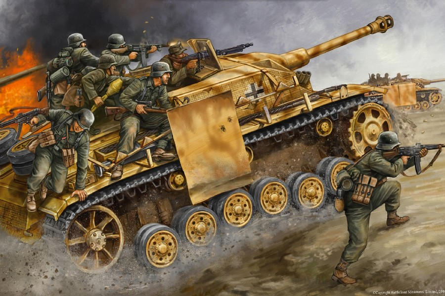 Art wall HD prints oil painting on canvas ww2 war Retro Vintage Tank Gifts