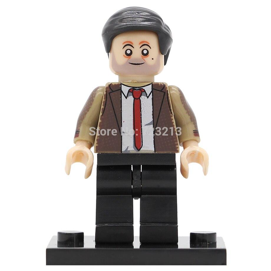 Single sale Mr Bean Figure Mister Building Blocks Set Model Toys Mr. Bean Collection for children 2pcs mr bean 40cm