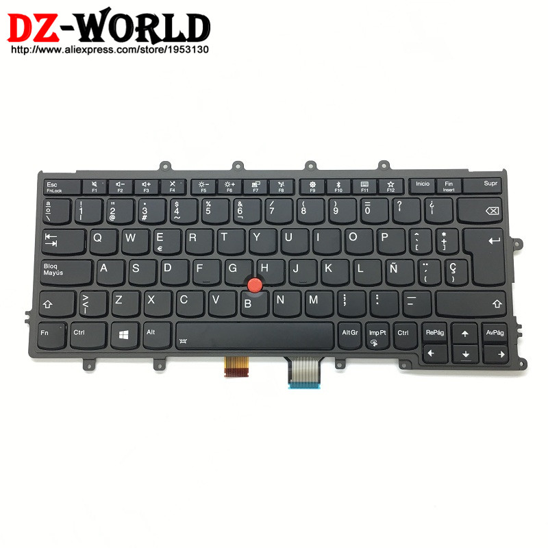 New Original for Lenovo Thinkpad X270 A275 ES Spanish Backlit Backlight Keyboard Teclado 01EN596 01EP072 SN20L82580 new keyboard for lenovo thinkpad t410 t420 x220 w510 w520 t510 t520 t400s x220t x220i qwerty latin spanish espanol hispanic