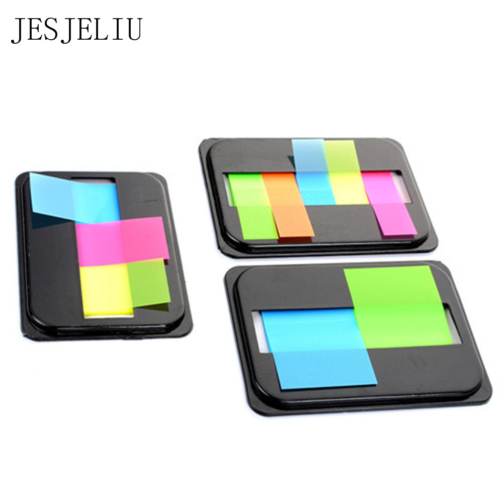5 Colors Self Adhesive Memo Pad Sticky Cute Candy Color Sticky Notes Bookmark  Marker Memo Sticker Paper Escolar