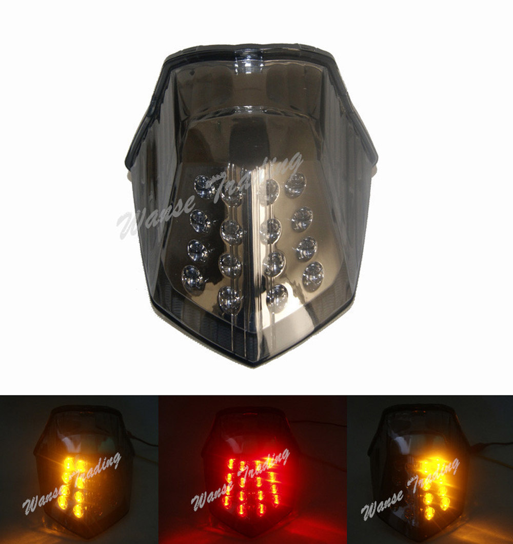 Taillight Tail Brake Turn Signals Integrated Led Light Smoke For 2009 2010 2011 2012 2013 2014 2015 YAMAHA Diversion 600 XJ600 aftermarket free shipping motorcycle parts led tail brake light turn signals for yamaha 2004 2009 fz6 fazer 600 clear
