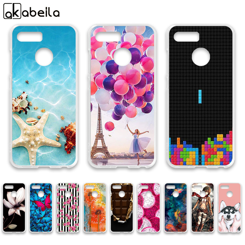 AKABEILA Cases For <font><b>Lenovo</b></font> K5 play Case Silicone Flexible Nutella Flamingo Flower Cover For <font><b>Lenovo</b></font> K5 play <font><b>L38011</b></font> Covers Fundas image