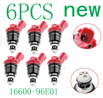 16600-96E00 16600-96E01 16600-10Y00 16600-53J03 1660096E01 for Nissan for Infiniti Fuel Supply System Fuel Injector Injection
