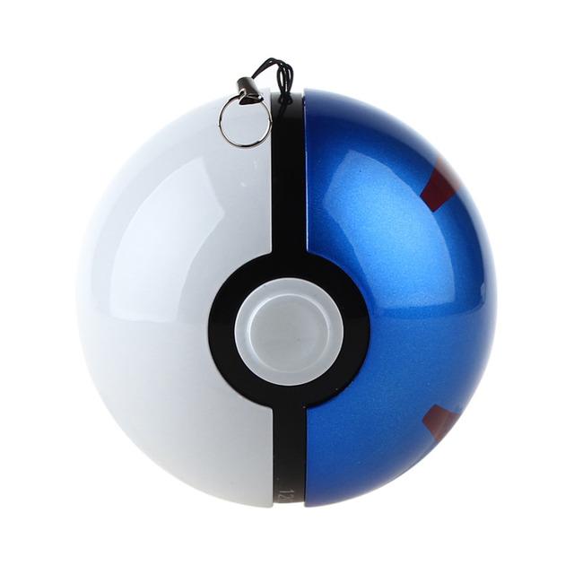 12000 mah 10000 mAh Regalo de Navidad Juego Pokemon Pokeball Christom Ir Más El Powerbank Cargador del teléfono Potencia de Poke bola de Peluche de Juguete banco