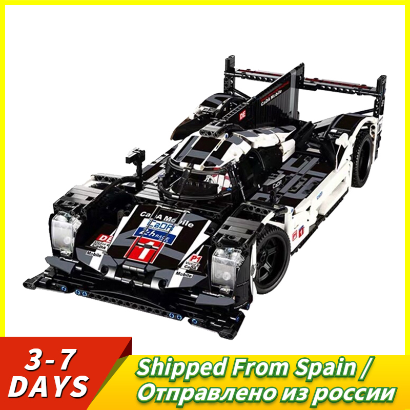 Technic Hybrid Super Racing Car DIY Model Birthday Gift Compatible With Technic Bricks DIY Toy For