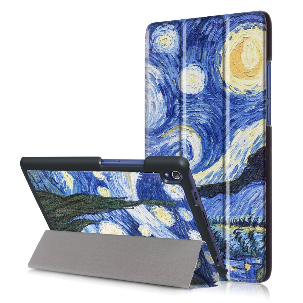 Pu Leather Cover Case For Lenovo Tab 3 Tab3 8 Plus P8 TB-8703F Stand Tablet Smart Case with Auto Wake/Sleep Flip Fund print flower pu leather case for lenovo p8 tab3 tab 3 8 plus tb 8703f n 8 0 inch tablet protective stand cover funda capa