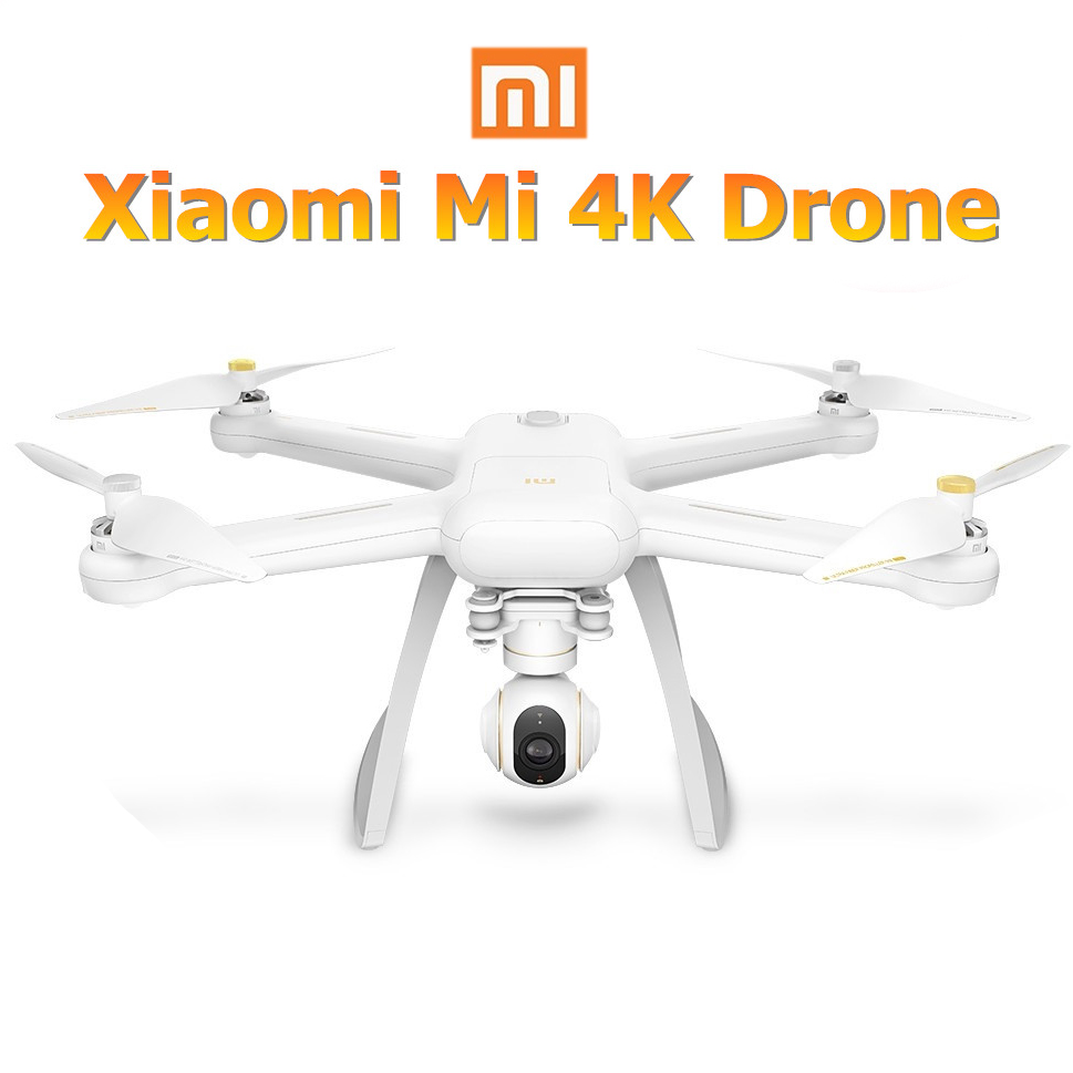 Xiaomi Mi Drone 4K Quadrotor Camera Drone With HD 30fps Video Recording 3 Axis Gimbal Smart Remote control Camera GPS+GLONASS