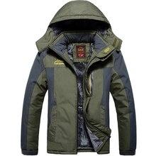 Plus Size 5XL 6XL 7XL 8XL 9XL New Autumn Winter Warm Jacket Men Outwear Thick Windbreaker Waterproof Jacket Hood Parka Coat Men