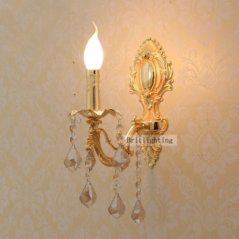 Led Decorative Wall Lamps : Aliexpress.com : Buy led wall sconce crystal light home led wall lights decorative led indoor ...