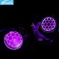 Ronan car styling 3.0 inch bi xenon blue Hella 5R Soccer glass headlight lenses projector use D2S D2H D1S D3S D4S Xenon bulbs
