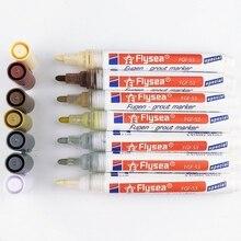 Tile Gap Repair Color Pen White Tile Refill Art Line Grout Pen Waterproof Mouldproof Filling Agents Wall Porcelain Dropshipping 1pcs grout pen