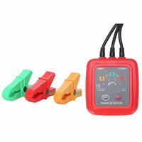 UNI T UT262A Non Contact Indicator Detector Meter 3 Phase Sequence Rotation Detectors Tester LED Display Buzzer Range 40Hz 70Hz