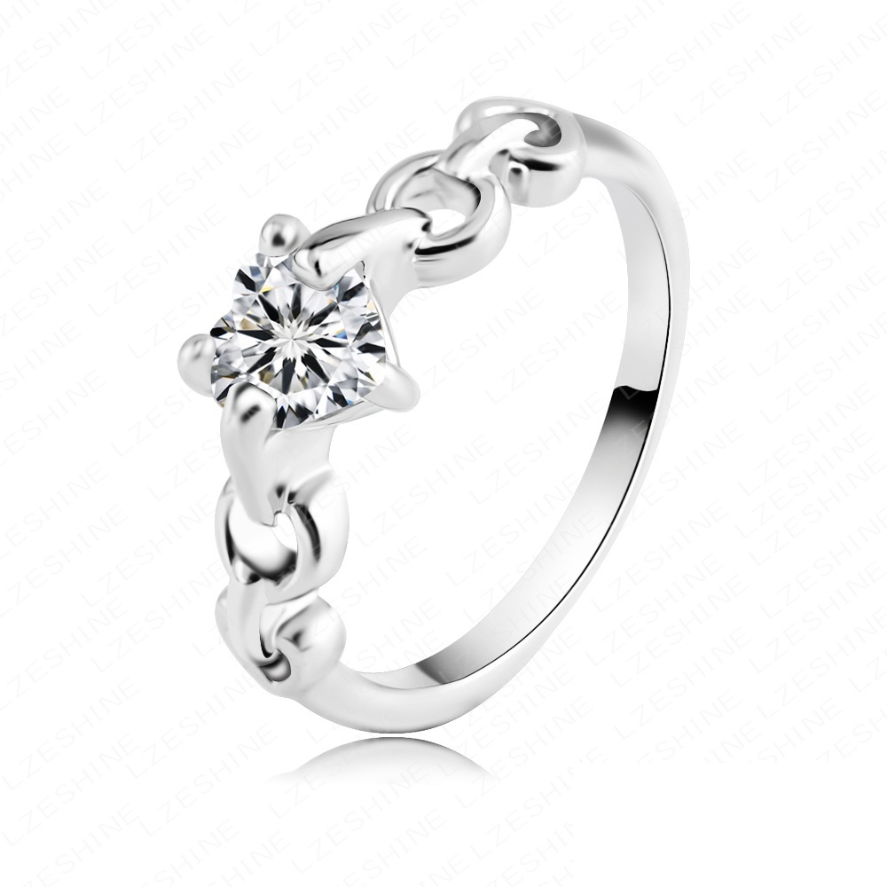 Retail Simple Design Fashionable Ring 18K Rose Gold /Platinum ...
