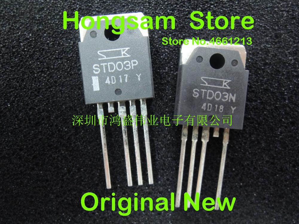 (10 pairs) 100% original neue NICHT renovieren STD03P STD03N-in Stecker & Verbinder aus Verbraucherelektronik bei  Gruppe 1