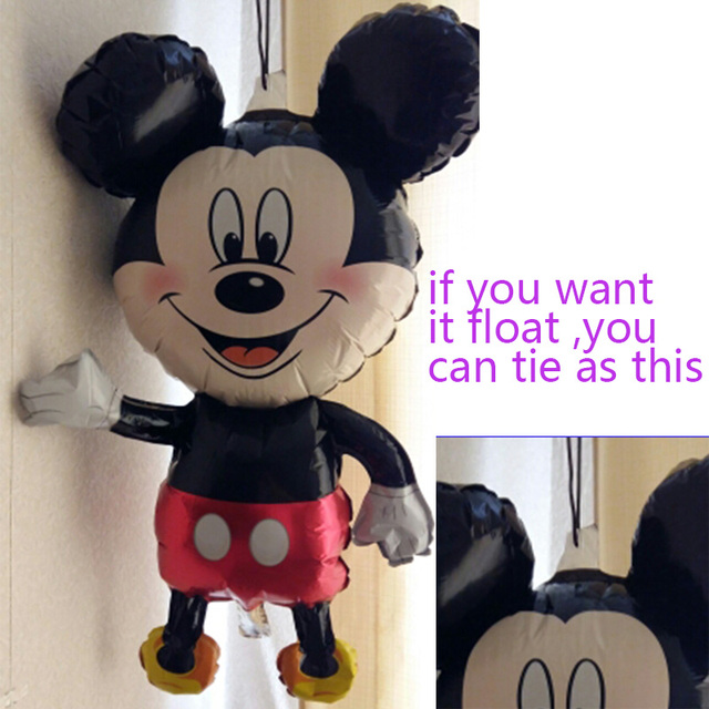 112cm Giant Mickey Minnie Mouse Balloon for birthday celebration | online brands