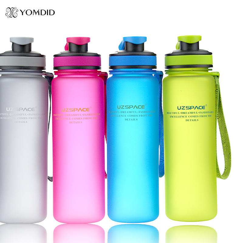 1000ml Water Bottle Eco friendly Sports Bottle for water Juice Tea Cup Travelling Climbing Cycling Bottle