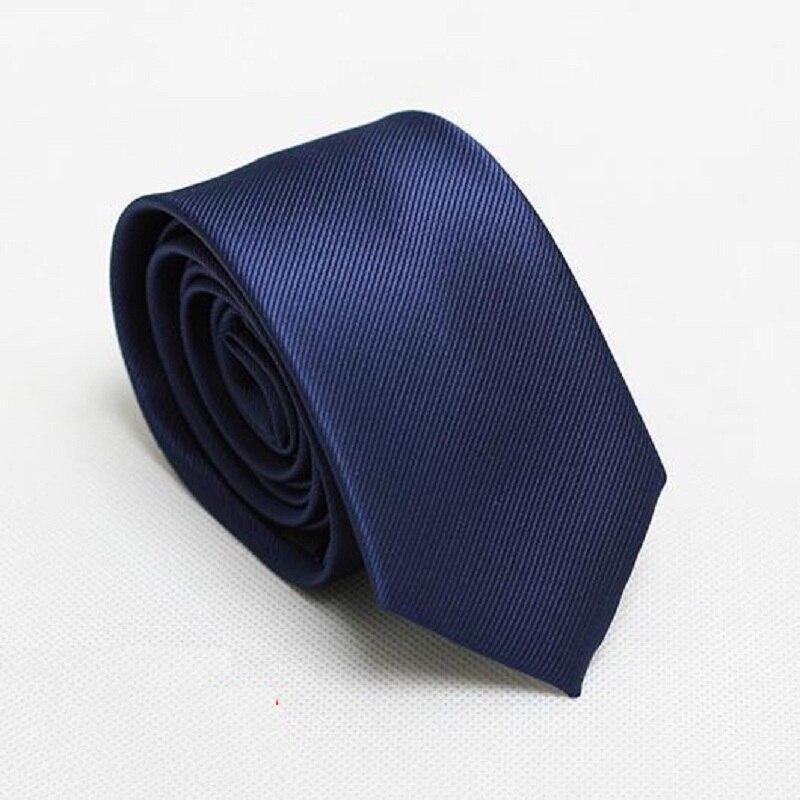 fashion solid men slim tiess