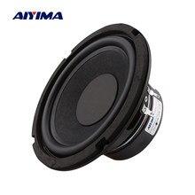 AIYIMA 6,5 Zoll Woofer Sound Lautsprecher Spalte 4 8 Ohm 80 W High Power Subwoofer Lautsprecher DIY Lautsprecher Für Sound system