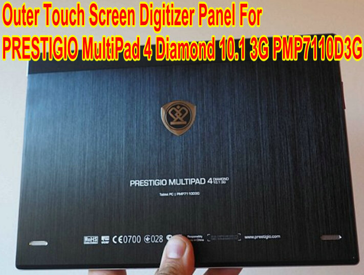 Original 10.1 PRESTIGIO MultiPad 4 10.1 PMP7110D3G Tablet Touch Screen Panel digitizer glass Sensor Replacement Free Shipping