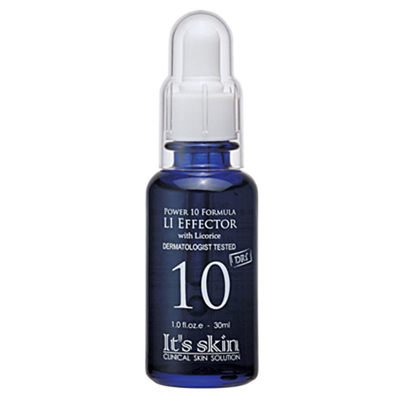 IT'S SKIN Power 10 Formula LI Effector 30ml [ Skin Tone Recovery ] Face Cream Serum Helps Your Skin To Be Even Bright Clean