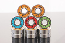 16pcs/Set Inline SKate Bearings 8x22mm Roller SKate Bearings Chrome Steel SKateboard Drift Board Long Board Bearings