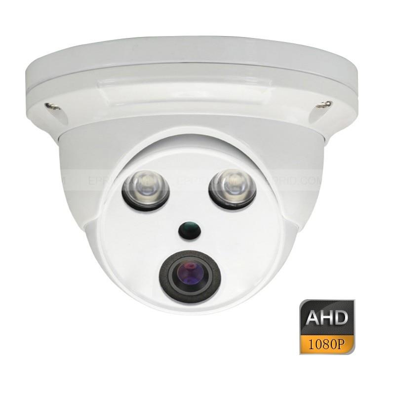 CCTV Security 1080P AHD Array IR Metal Dome Indoor IR-Cut Camera 4mm LensCCTV Security 1080P AHD Array IR Metal Dome Indoor IR-Cut Camera 4mm Lens