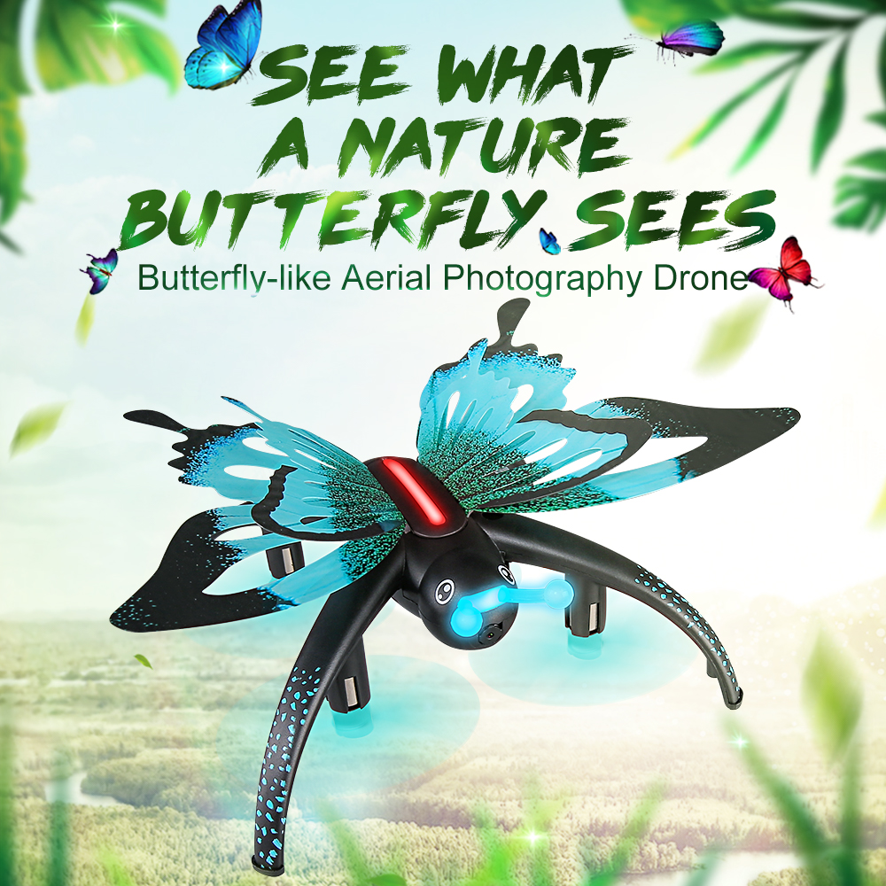JJRC Rc-Drone Best-Toys Rc-Quadcopter Hd-Camera WIFI Butterfly FPV With 480P High-Hold-Mode