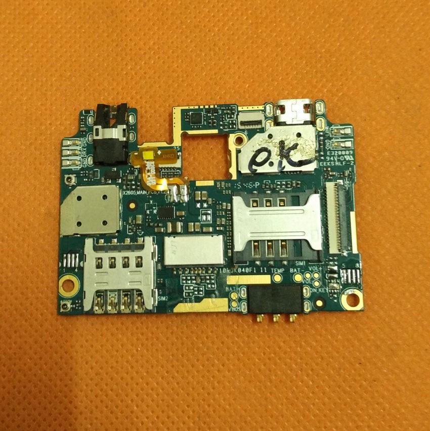 Used Original mainboard 2G RAM+16G ROM Motherboard for UHANS U100 MTK6735 Quad Core 4.7 HD 1280x720 Freeshipping