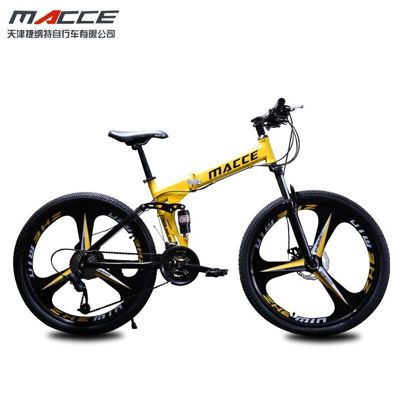24 pouces 27-speeh VTT vélo mâle adulte variable vitesse amortisseur route course tout-terrain léger femme étudiant