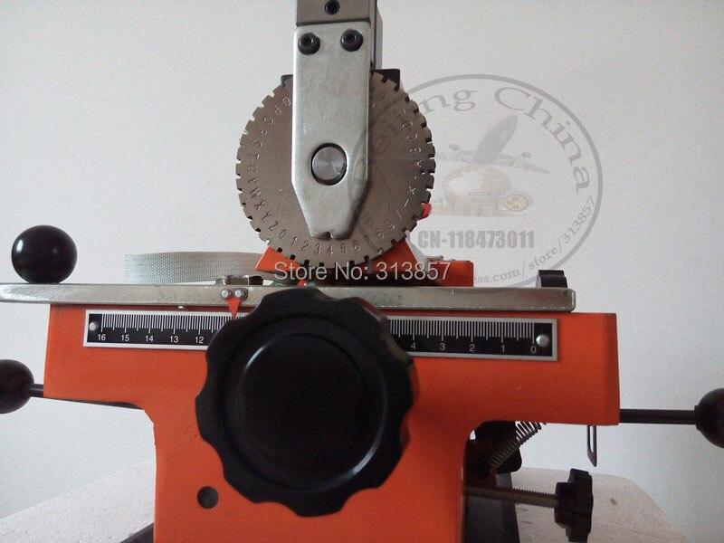 Manual Sheet Embosser Metal Stainless Steel Stamping