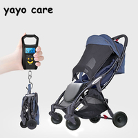 yayo care baby stroller folding portable trolley umberlla mini lightweight stollers One button to collect the car, very fast
