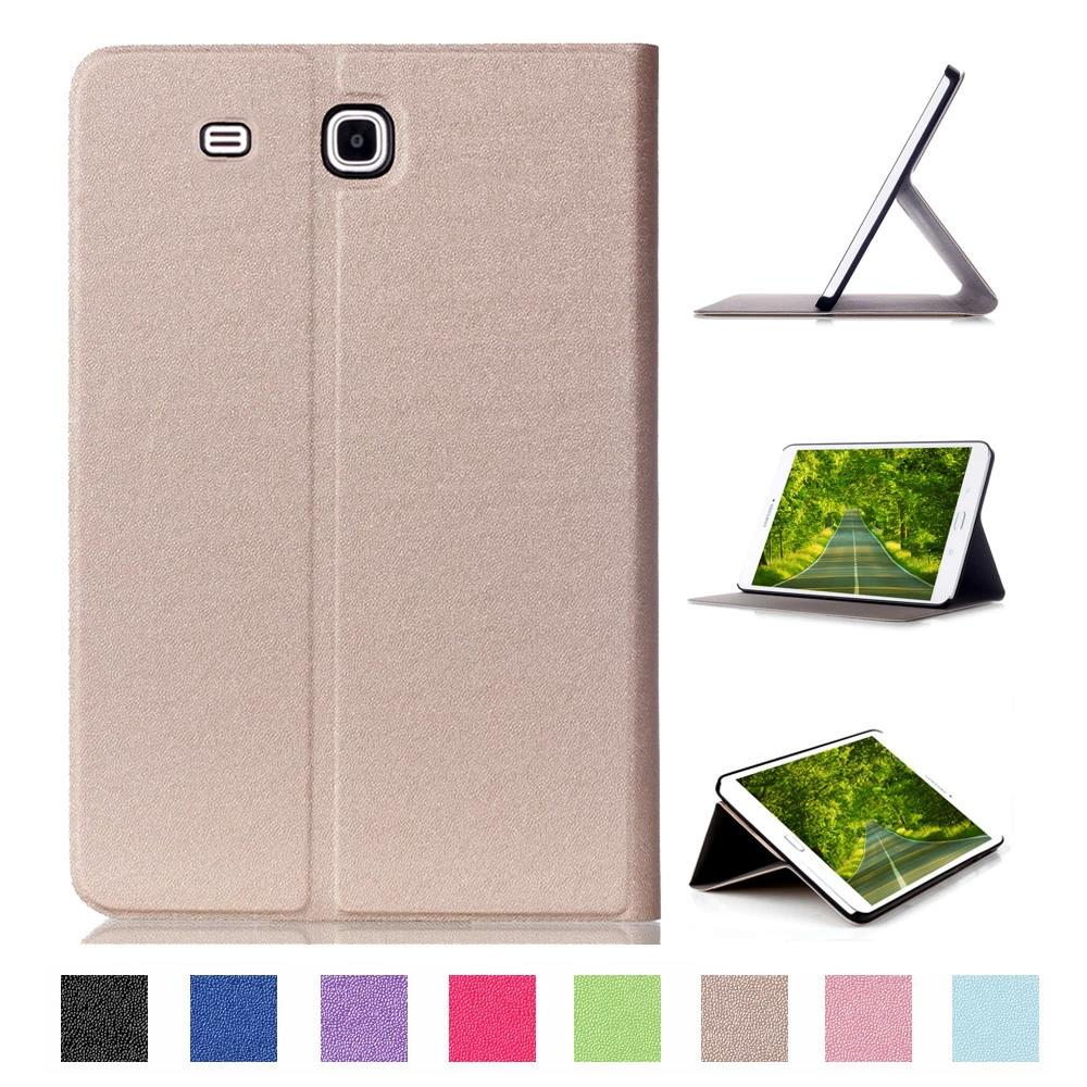 CY Front Stand Glitter PU Leather Case Cover Protector Skin For Samsung Galaxy Tab E T377V/T377P/T377A 8.0 Tablet PC d a t e кеды pop glitter