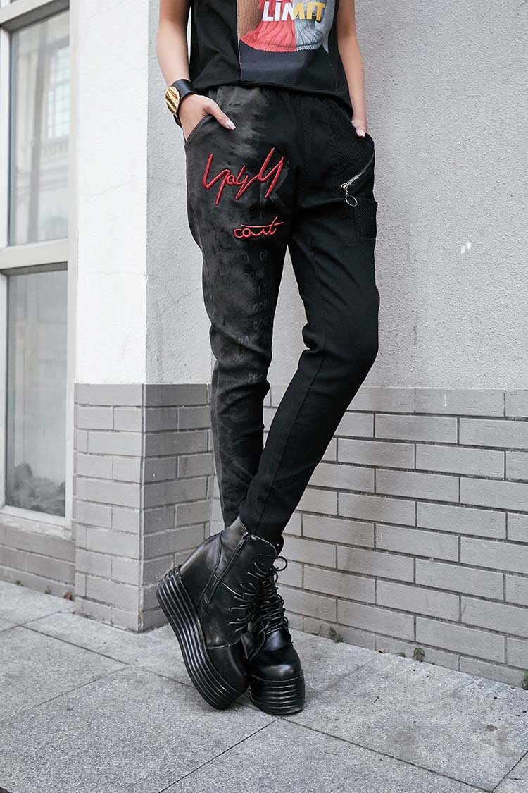 alta cintura sólida mulheres 4